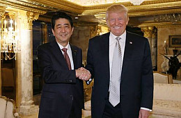 Trump and Abe: The Odd Couple